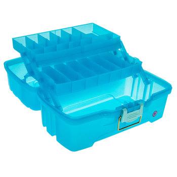 Blue Glitter Tray Box