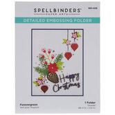 Forevergreen A2 Embossing Folder