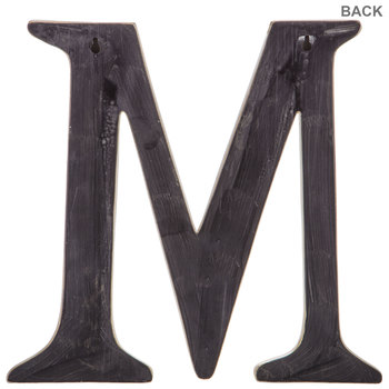 Gold Letter Wall Decor - M