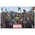 Marvel Heroes & Villains Canvas Wall Decor