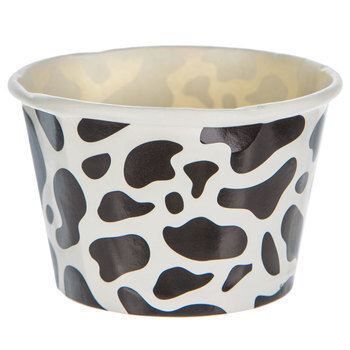 Cow Print Paper Snack Cups
