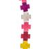 Cross Dyed Howlite Bead Strand