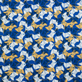 Game On Cotton Calico Fabric