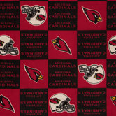 NFL Arizona Cardinals Fleece Fabric