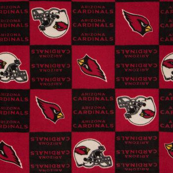 NFL Arizona Cardinals Fleece Fabric