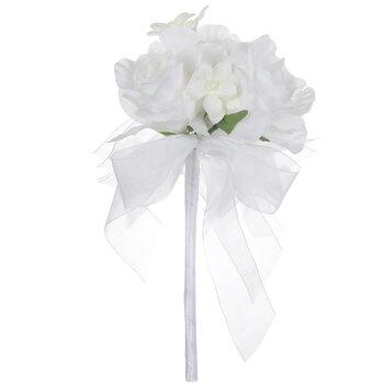 White Flower Girl Bouquet