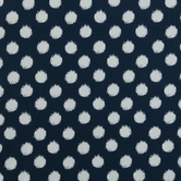 Navy & White Polka Dot Duck Cloth Fabric