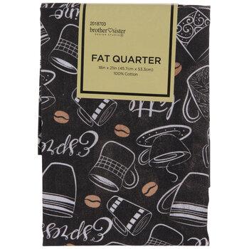Coffee Fat Quarter