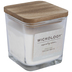 Italian Linen Wood Wick Jar Candle