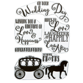 Mr & Mrs Clear Stamps