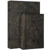 Antique Scroll Book Box Set
