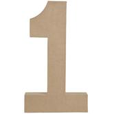 """Paper Mache Number - 16"""""""