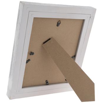 "White & Gray Barnwood Wall Frame - 8"" x 10"""
