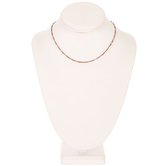 Oval Link Chain Necklace - 16""