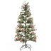 Snow Needle Pine Pre-Lit Christmas Tree - 4 1/2'