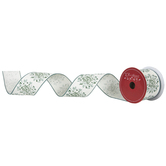 """Merry & Bright Wired Edge Ribbon - 2 1/2"""""""