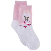 Heart Llama Crew Socks