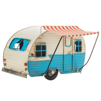 Metal Camper With Awning