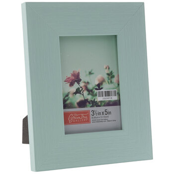 Turquoise Distressed Wood Look Frame