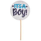 It's A Boy Cupcake Toppers