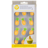 Pineapple Icing Decorations