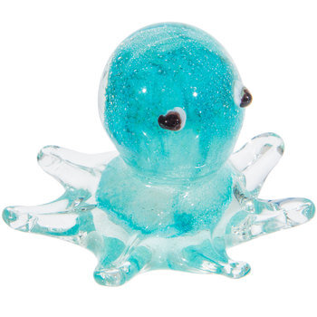 Blue Glass Octopus