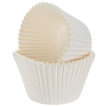 White Baking Cups - Jumbo