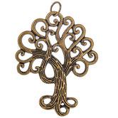 Scroll Tree Pendant