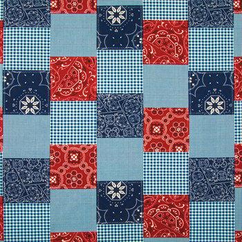 Bandana Patchwork Cotton Calico Fabric