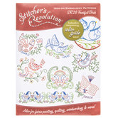 Fanciful Birds Iron-On Embroidery Patterns