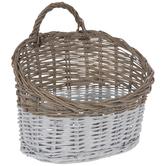 Two-Tone Wall Basket