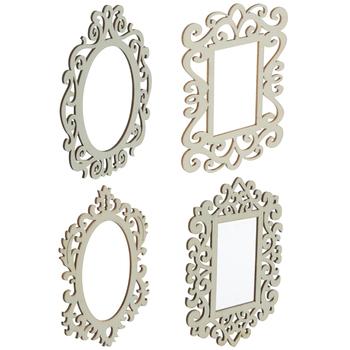 Ornate Wood Photo Frames