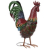 Colorful Metal Rooster