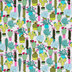 Botanical Succulents Apparel Fabric