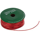 Metallic Red Elastic Ribbon