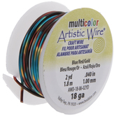 Blue & Red Artistic Wire - 18 Gauge