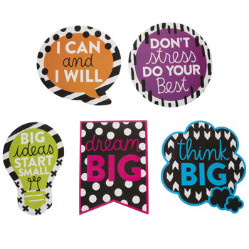 Quote Patterned Cutouts