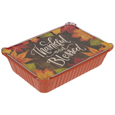 Thankful & Blessed Aluminum Pans With Covers