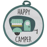 Happy Camper Pot Holder
