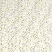 White & Gold Dash Apparel Fabric