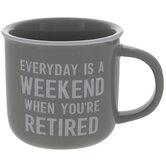Retired Weekend Mug