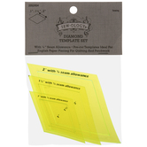 Yellow Diamond Quilting Templates