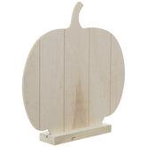 Shiplap Standing Wood Pumpkin