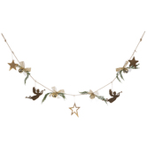 Stars & Angels Jingle Bells Garland