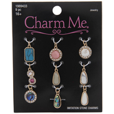 Assorted Imitation Stone Charms