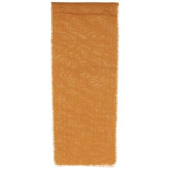 Orange Fringe Table Runner