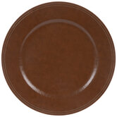 Faux Leather Plate Charger