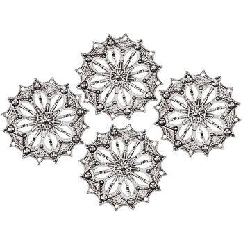 Round Scalloped Filigrees