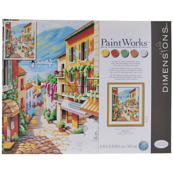 Village Steps Paint By Number Kit