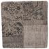 Beige Asymmetrical Jacquard Pillow Cover